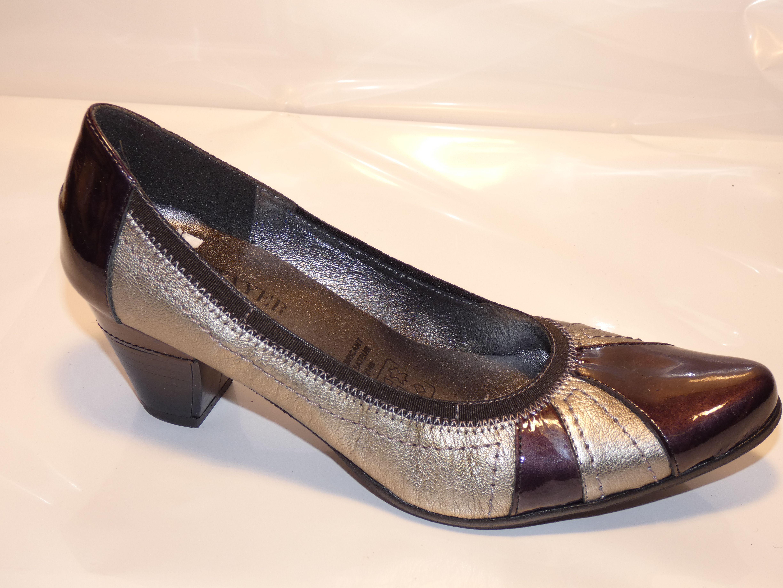 chaussure de moyen escarpin METAYER Fin série femme talon qgwPnE6x